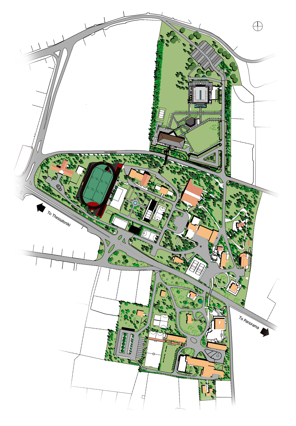 Anatolia Campus map